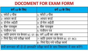 DOCOMENT FOR EXAM FORM