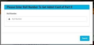Lnmu Part 2 Admit Card 2020 Download