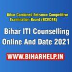 Bihar ITI Counselling